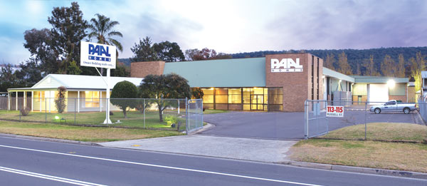 The Paal Kit Homes factory at Emu Plains, Sydney NSW. PAAL Display centres in NSW, QLD & Victoria