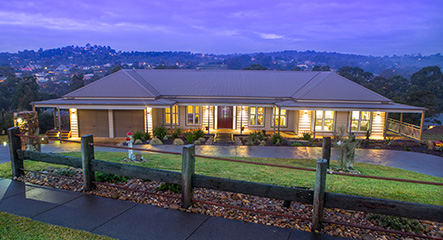 PAAL Kit Homes' Castlereagh built at Lilydale in Victoria.