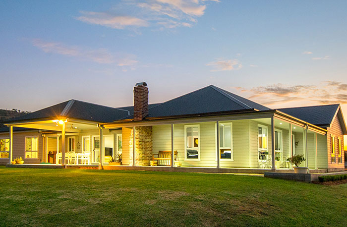 Paal kit homes 39 camden built in upper hunter nsw for Kit home designs nsw