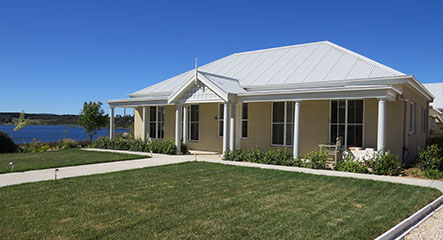 PAAL Kit Homes' Drinkfall, Bed-and-breakfast as well as beautiful new home, NSW..