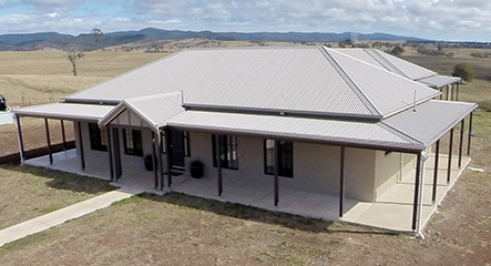 The Camden by PAAL Kit Homes owner built in Maidenwell Queensland.