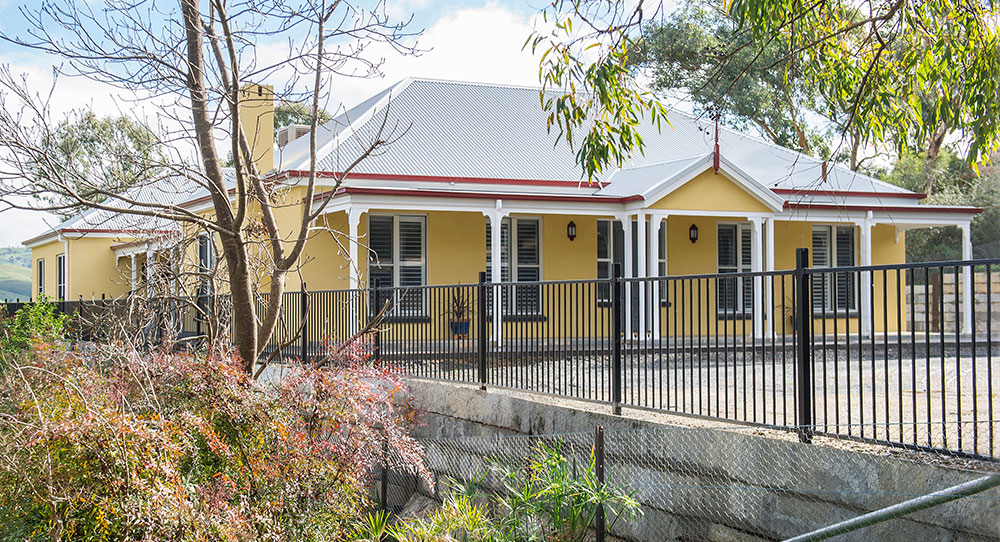 Paal kit homes 39 camden built in gundagai nsw for Kit home designs nsw