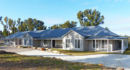 PAAL Kit Homes' the Derwent owner built at Yellow Rock in The Blue Mountains NSW.