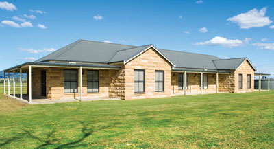 Hunter Valley, Building own home was a rewarding challenge