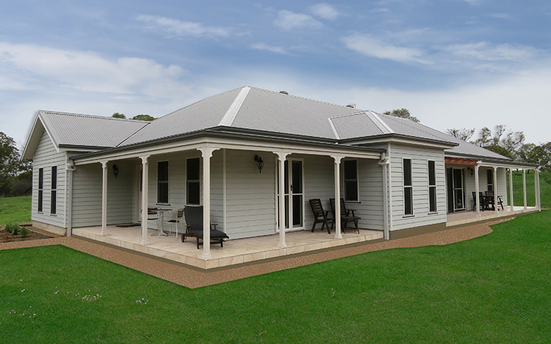 Paal Kit Homes Completed By Owner Builders Nsw Qld Vic