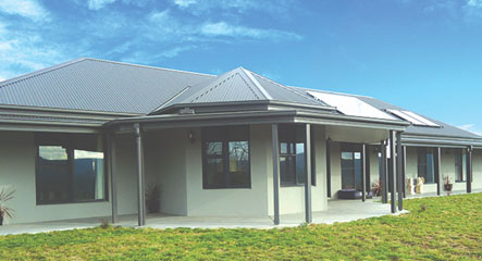 A Darling based design the looks absolutely 'darling'. But no joke this Kinglake, Victoria home sports all the high quality goodies. Thanks to Paal kit homes great modular flat pack homes.
