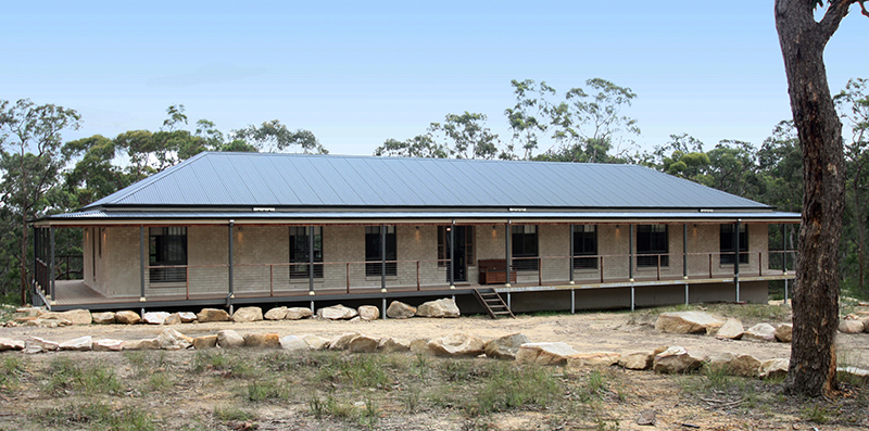 Riverina inspired built modular kit home