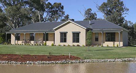 PAAL Kit Homes' Robertson, Couple easily customise home to suit their dream site, NSW.
