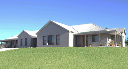 A beautiful modular home built in the little town of Luddenham, NSW.