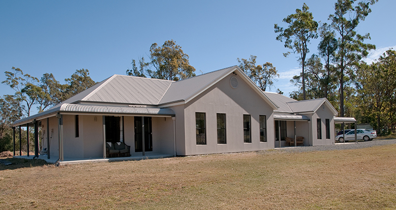 Paal kit homes completed by owner builders nsw qld vic for Kit home designs nsw