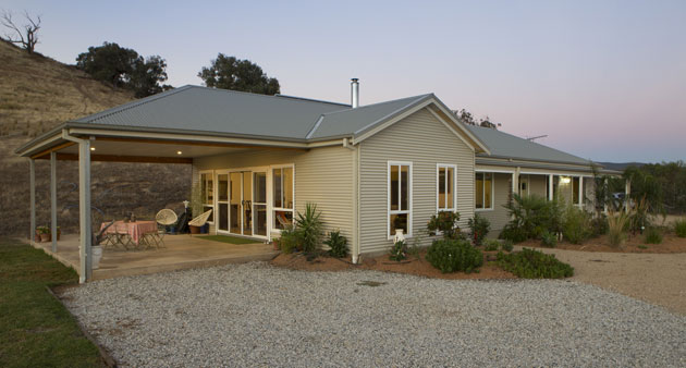 Paal kit homes victoria the paal system was easy to put for Paal kit home designs