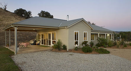 PAAL Kit Homes Victoria, The Paal System was easy to put together, Bethanga VIC.