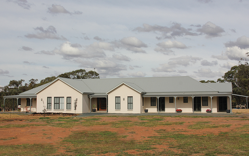 Paal kit homes completed by owner builders nsw qld vic for Kit west homes