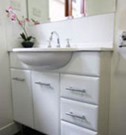 PAAL Kit Homes NSW, Victoria and QLD offer  large range of bathroom options.
