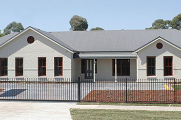 Front View of PAAL VIC Display Home