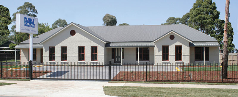 Kit Homes Victoria - The Hawkesbury kit home on display in Bayswater Nth Melbourne