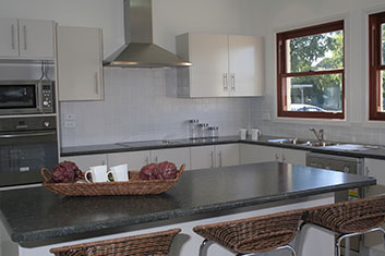 Kit Homes Victoria - The Hawkesbury kit home kitchen on display in Bayswater Nth Melbourne