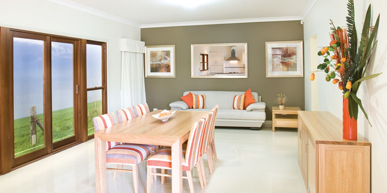 PAAL Kit Homes QLD Display Centre in Brisbane SE Queensland - Family / Dining / Lounge room