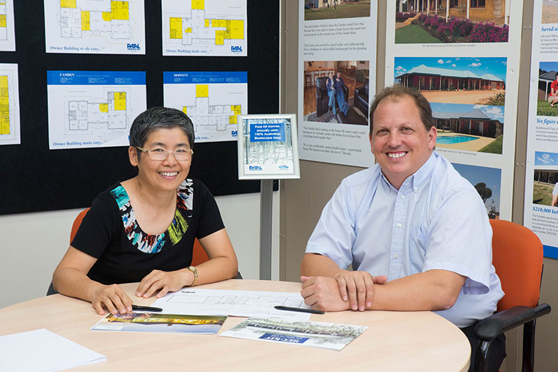 Mauree Grace and Jamie Thomson - PAAL Kit Homes Queensland