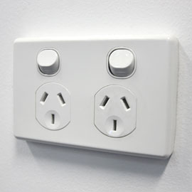 PAAL kit home electrical inclusions: Double power points to all rooms  Light fittings, switches and smoke detectors.