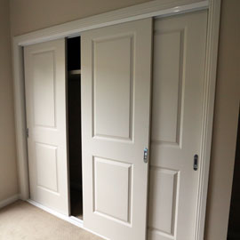 Fully lined linen cupboards with four shelves in each design.  Walk-in pantry and Built-in wardrobes where indicated on kit home plans