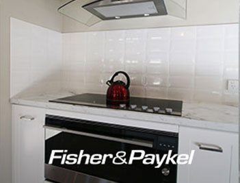 Fisher and Paykel appliances, fridges, dish washers, washing machines - PAAL Kit Homes QLD (Queensland) Victoria NSW