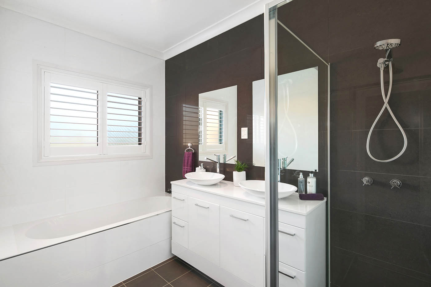 En-suite with high quality finish