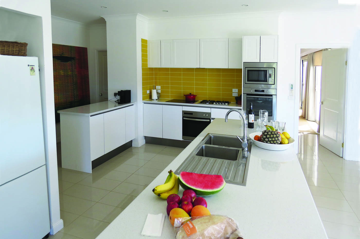 B & B kitchen in Paal kit home