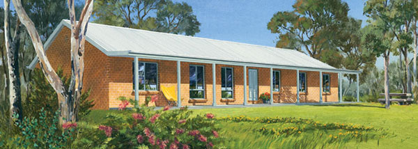 Paal kit homes berrima steel frame kit home nsw qld vic Country plans owner builder