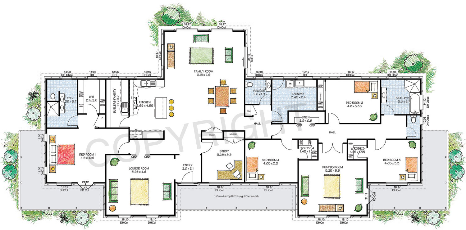 House Floor Plans Qld