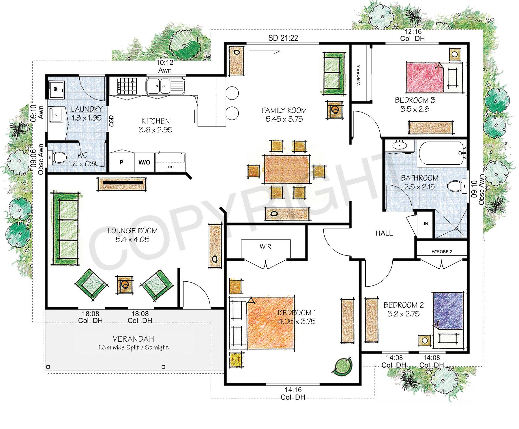 The Blackheath floor plan