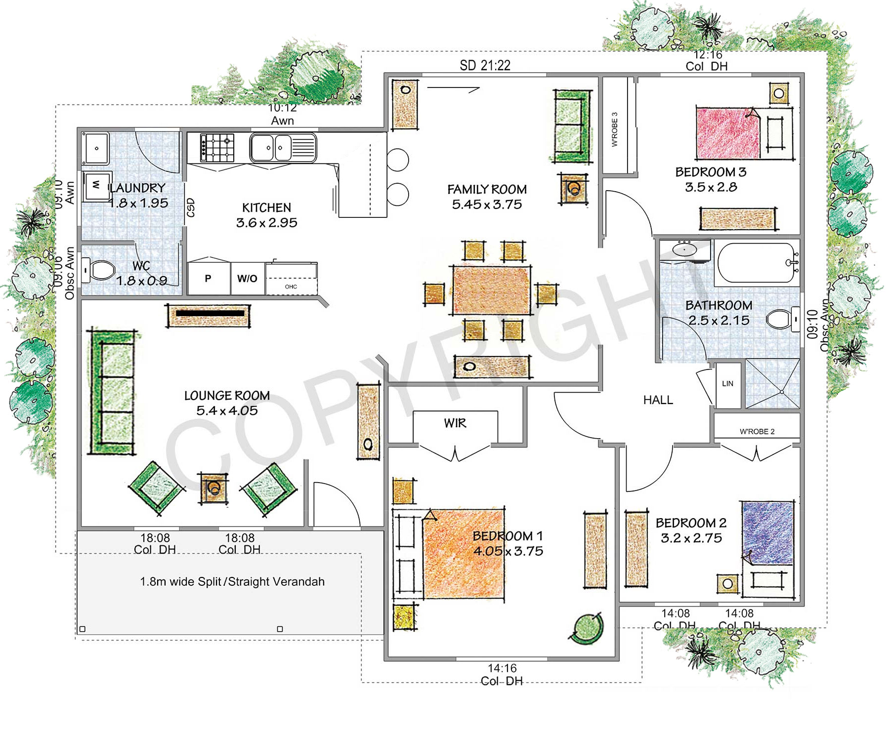 The Blackheath floor plan