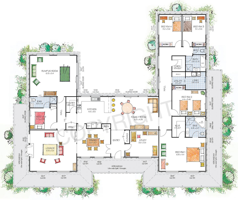 The Castlereagh floor plan