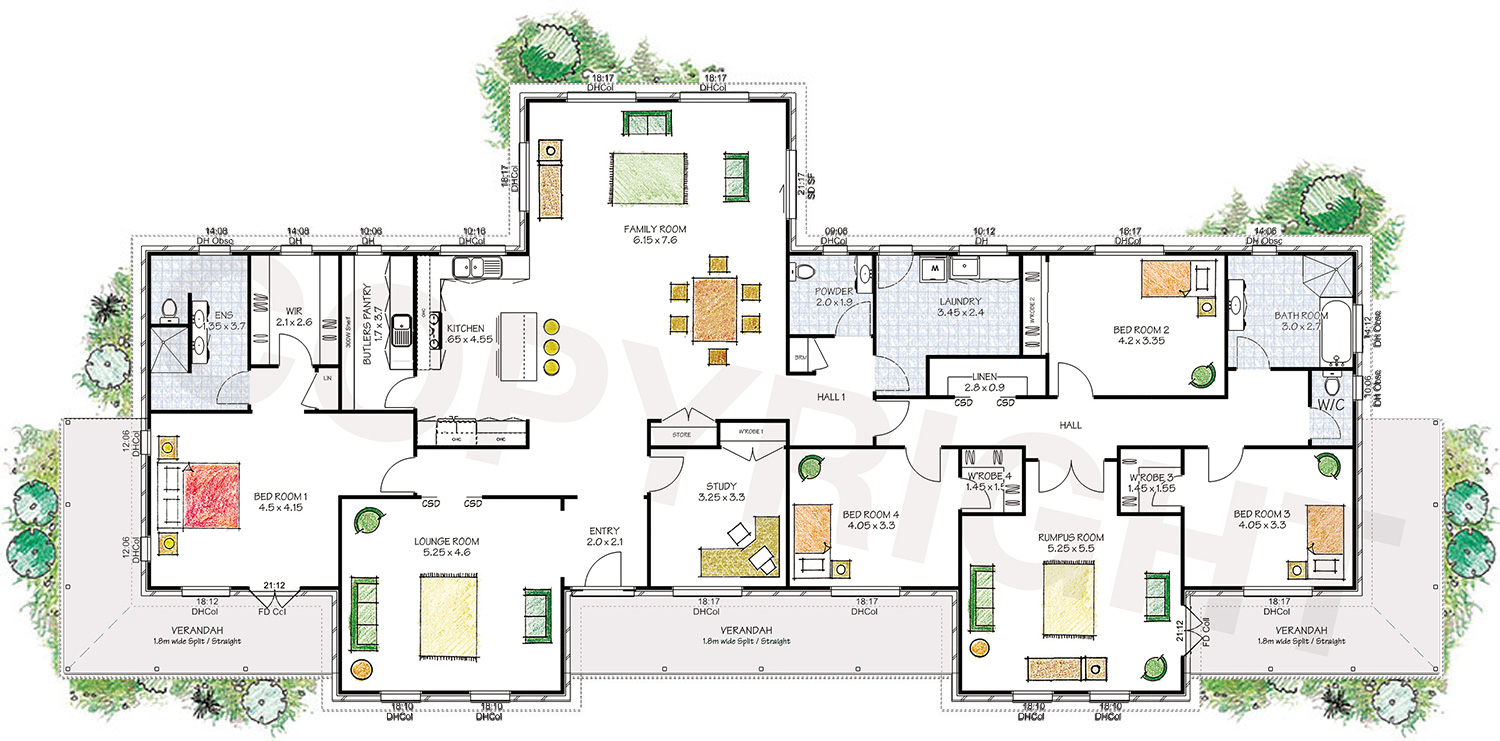 The Derwent floor plan