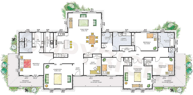 The Derwent floor plan