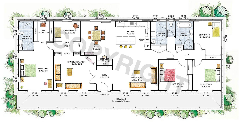 The Elizabeth floor plan