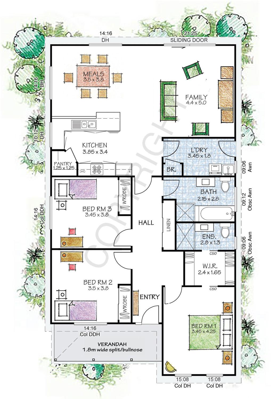 The Fitzroy floor plan