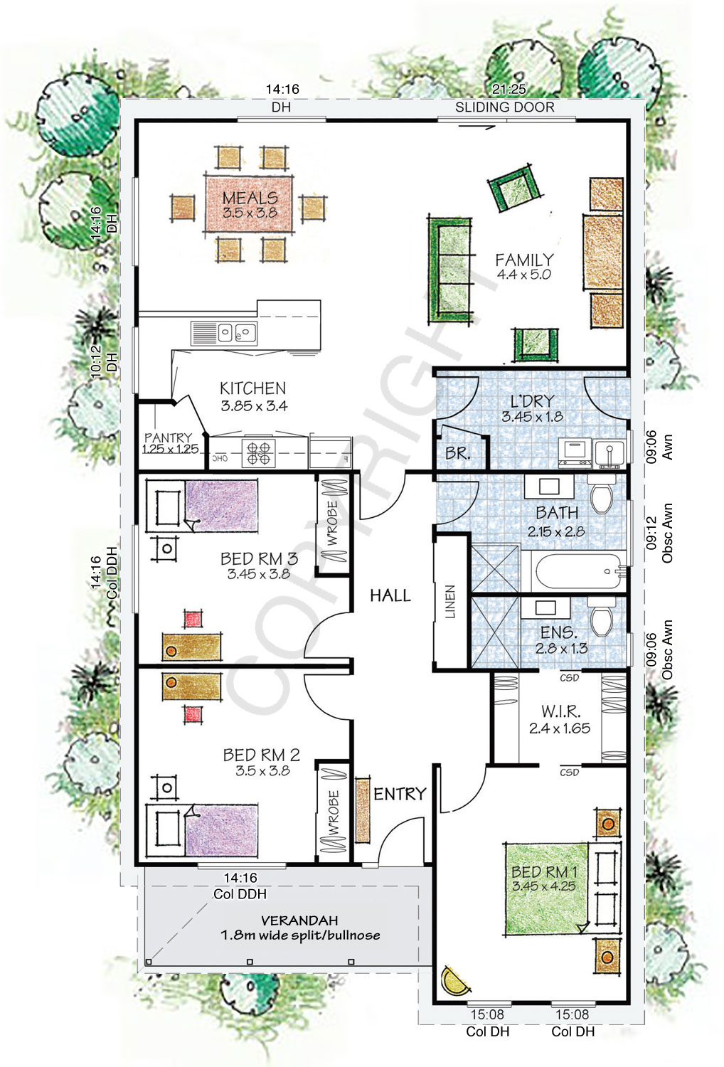 The Fitzroy floor plan