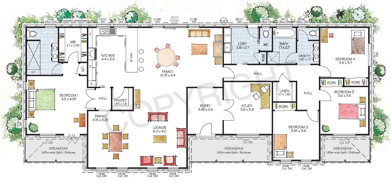 The Hawkesbury floor plan