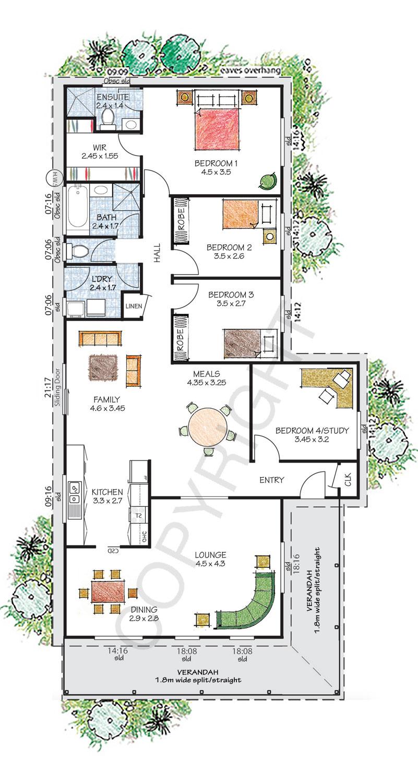 The Kiama floor plan