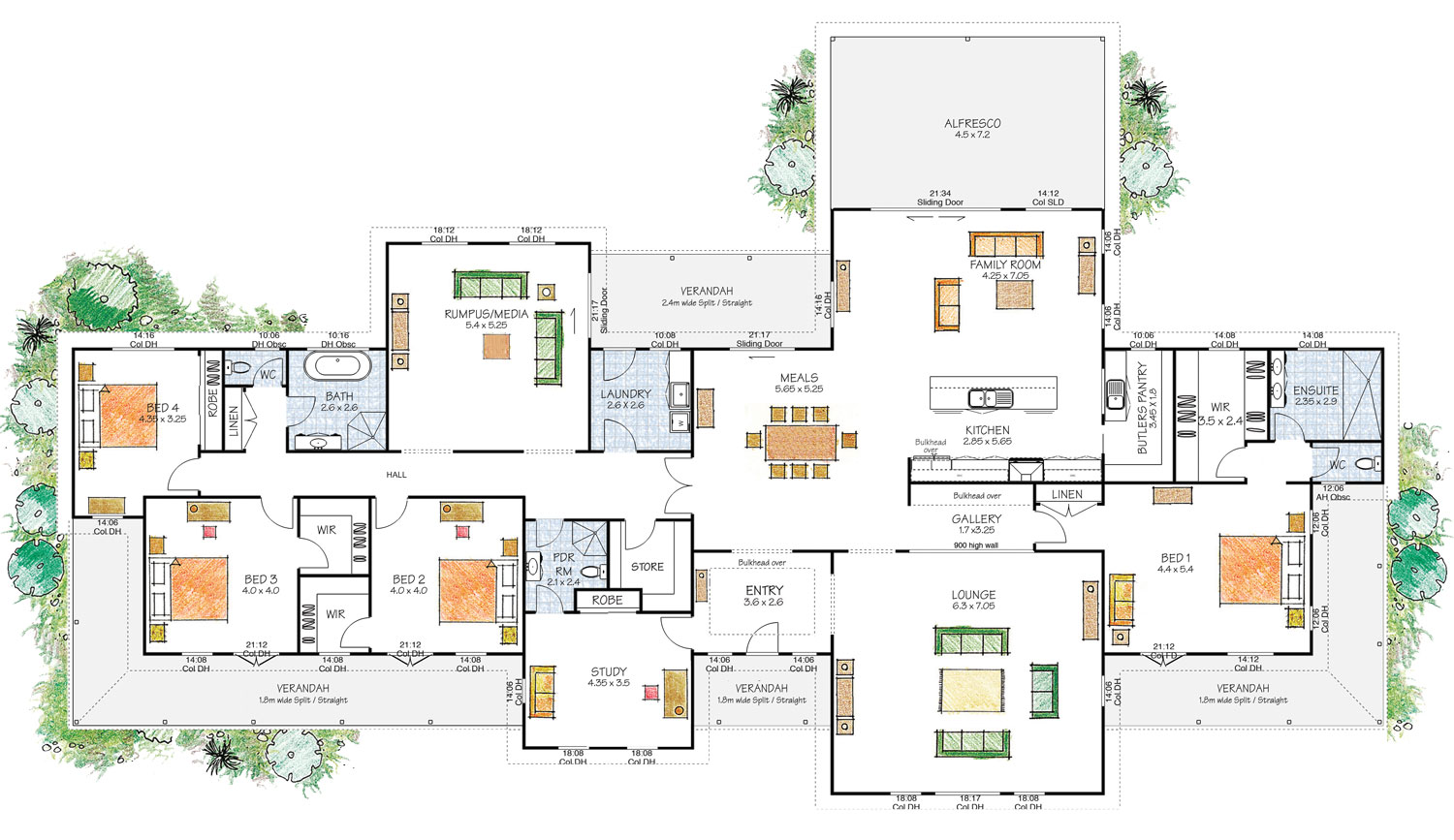 The Richmond Large Country Paal Kit Home Design
