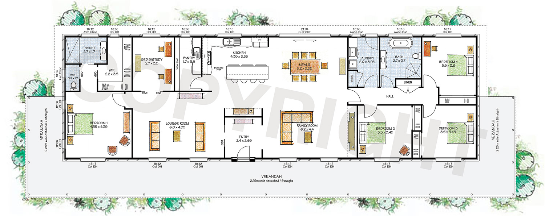 The Riverina floor plan