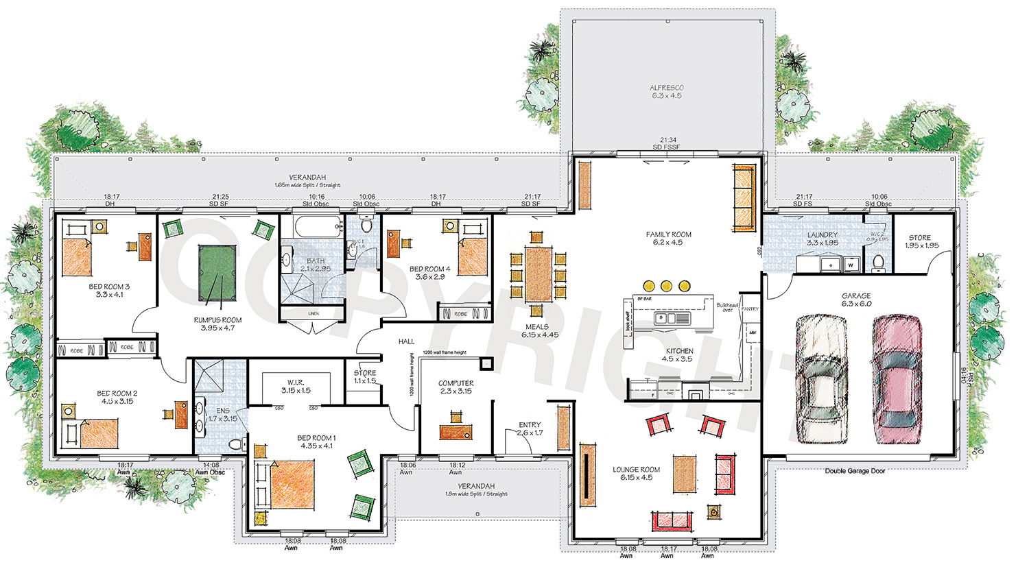The Stanthorpe floor plan