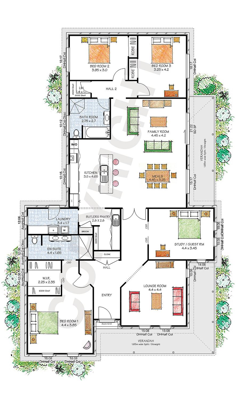 The Windsor floor plan
