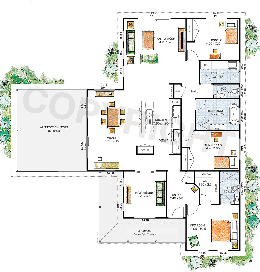 The Yarra floor plan
