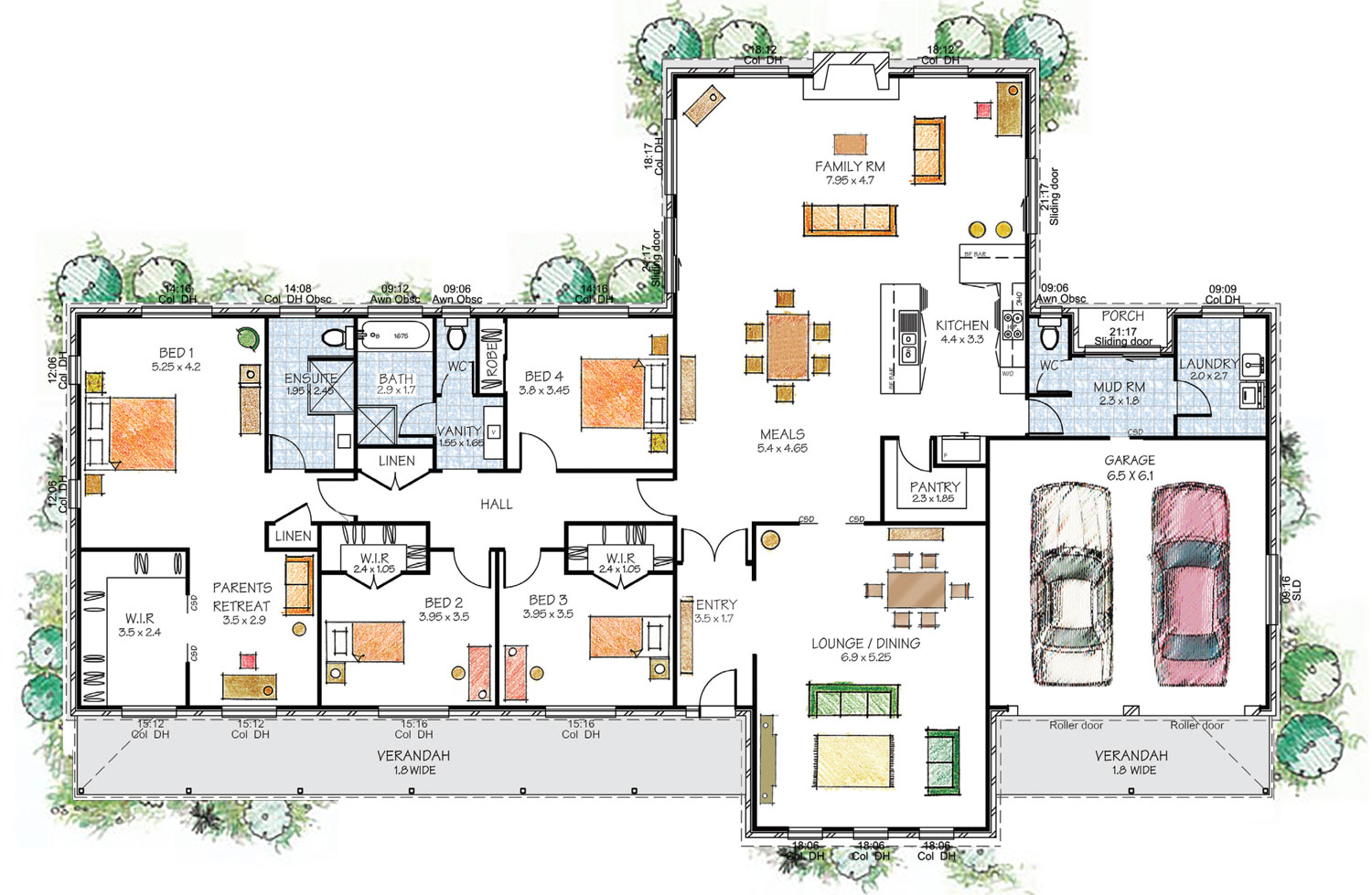 28 Homes With Floor Plans The Importance Of House Designs
