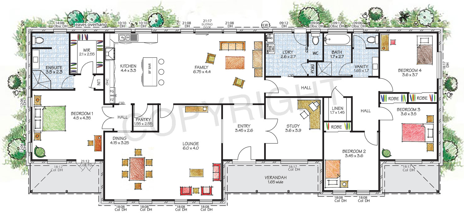 The Hawkesbury Floor Plan   Download A PDF Here   Paal Kit Homes Offer Easy  To Part 9