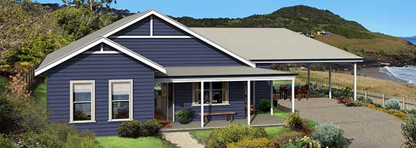 Paal Kit Homes Yarra steel frame kit home, Reversed Plan, NSW QLD ...