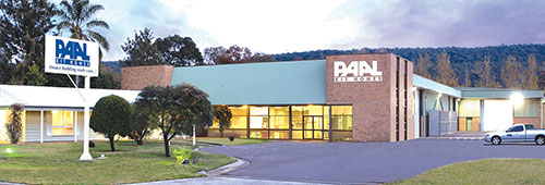 Front of PAAL Kit Homes factory located in NSW