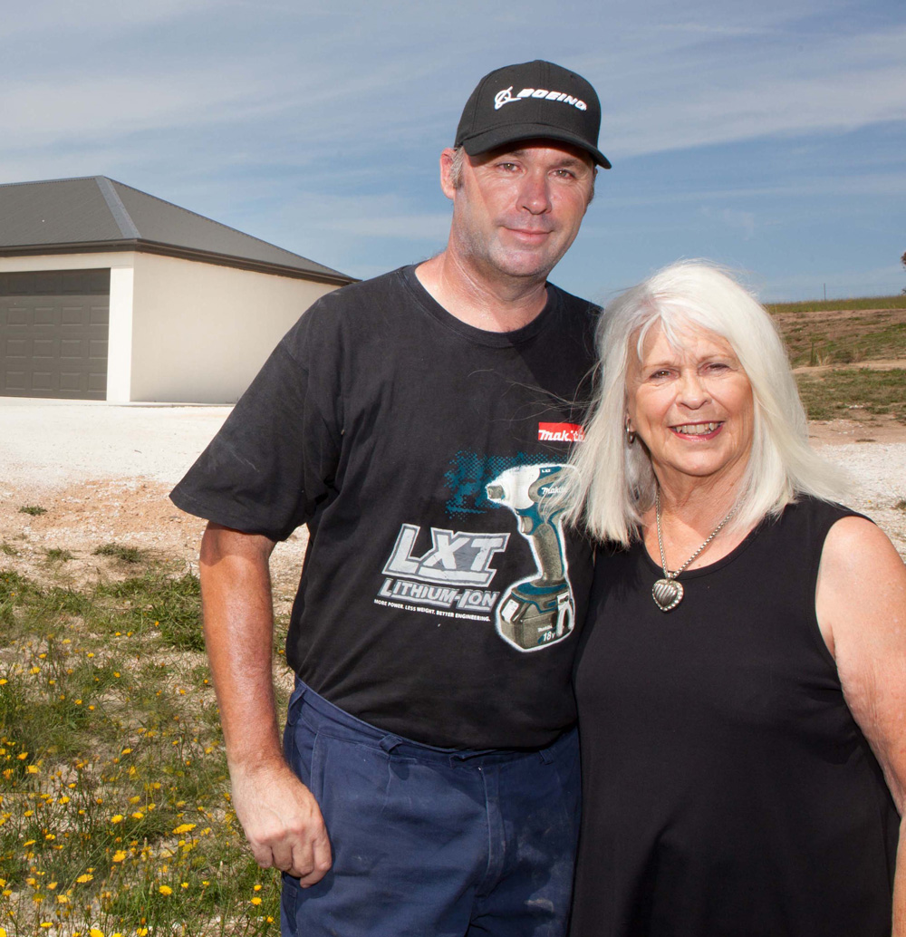 Brook built his own Paal kit home 10 years ago on his acres at O'Connell, between Bathurst and Oberon. After purchasing an adjoining block of land, he built for his sister, and has now finished a third Paal steel frame kit home for his mother and father on the same property.